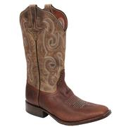 Rios of Mercedes Mens Bison Antique Brown Boots