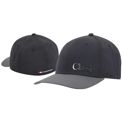 Classic Ropes Black/Grey Fitted Cap