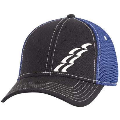 Rattler Rope Black/Blue Fitted Cap