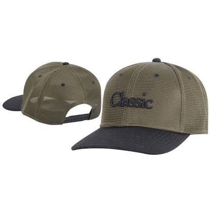 Classic Ropes Olive/Black Snapback Cap