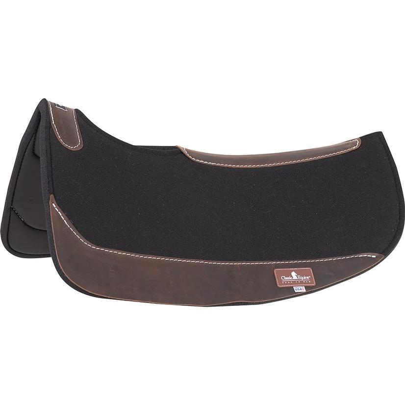 Classic Equine Contourpedic Flex Square Saddle Pad
