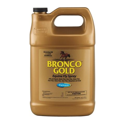 Bronco Gold Fly Spray Gallon