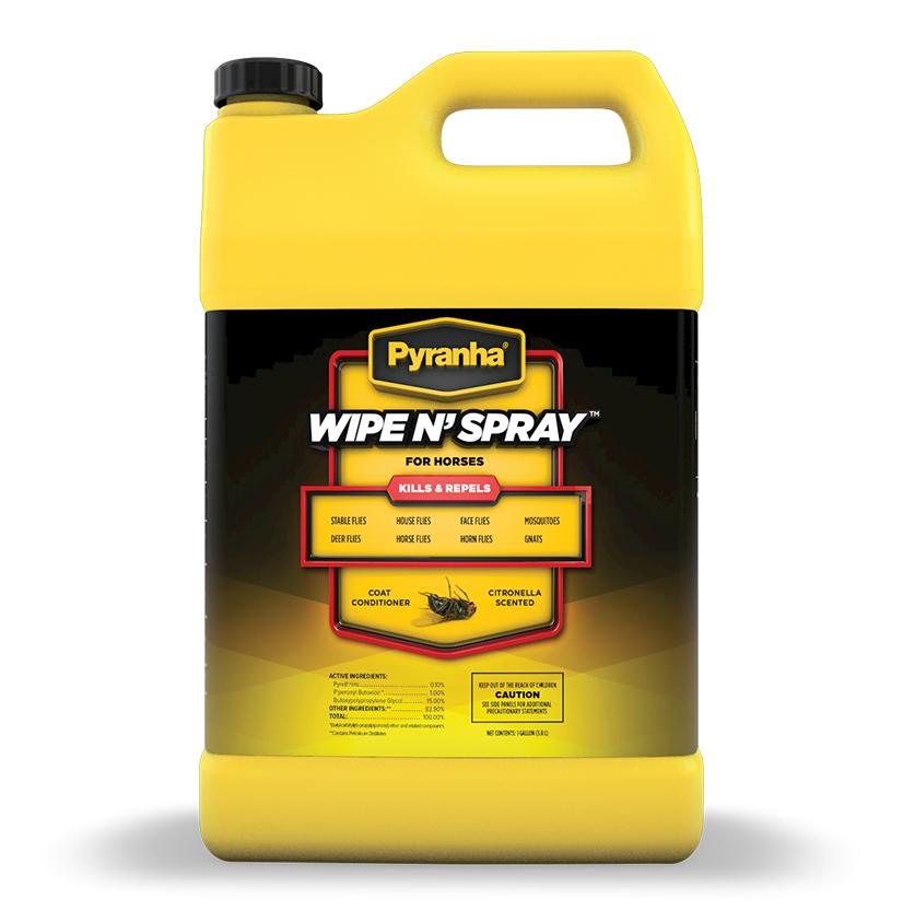 Pyranha Wipe N ' Spray Gallon