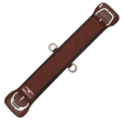 Classic Equine Feather Flex Straight Cinch BROWN