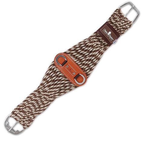 Classic Equine Brown Roper Mohair & Alpaca Cinch