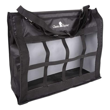 Classic Equine Topload Hay Bag BLACK