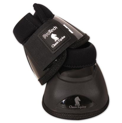 Classic Equine Pro Tech No Turn Bell Boot BLACK