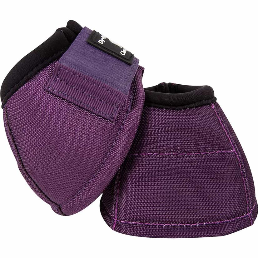 Classic Equine Dyno No-Turn Bell Boots EGGPLANT