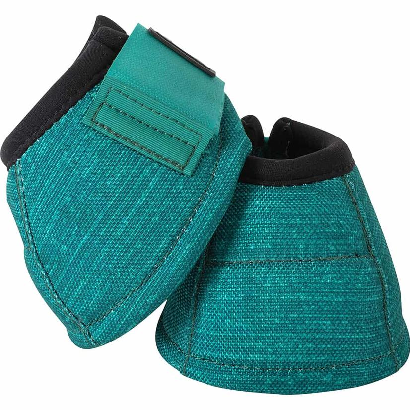 Classic Equine Dyno No-Turn Bell Boots EMERALD