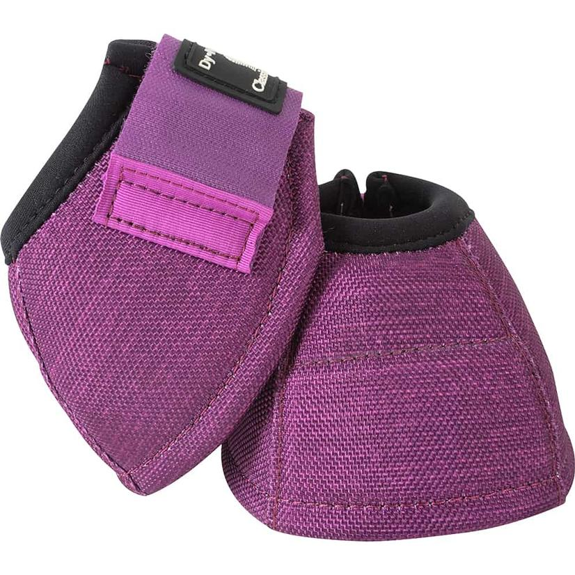 Classic Equine Dyno No-Turn Bell Boots PLUM