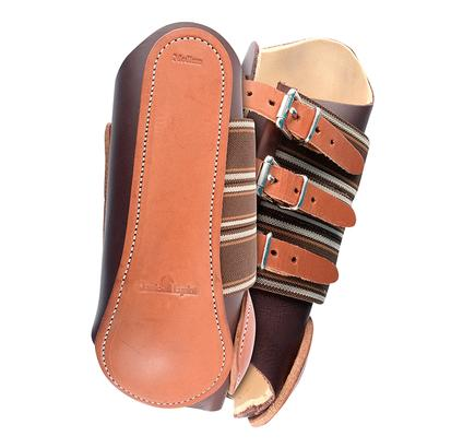 Classic Leather Splint Boots W/Buckles