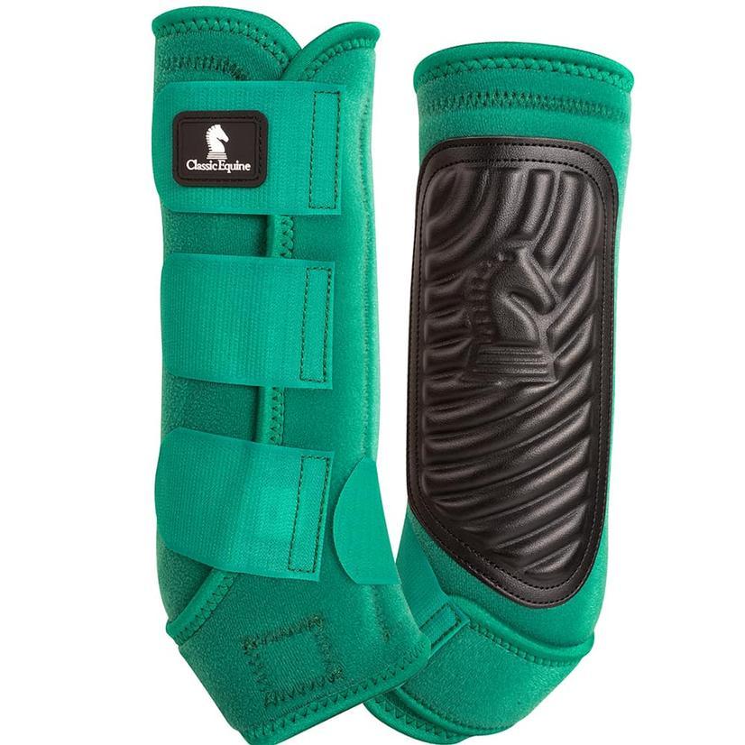 Classic Equine ClassicFit Hind Boots EMERALD