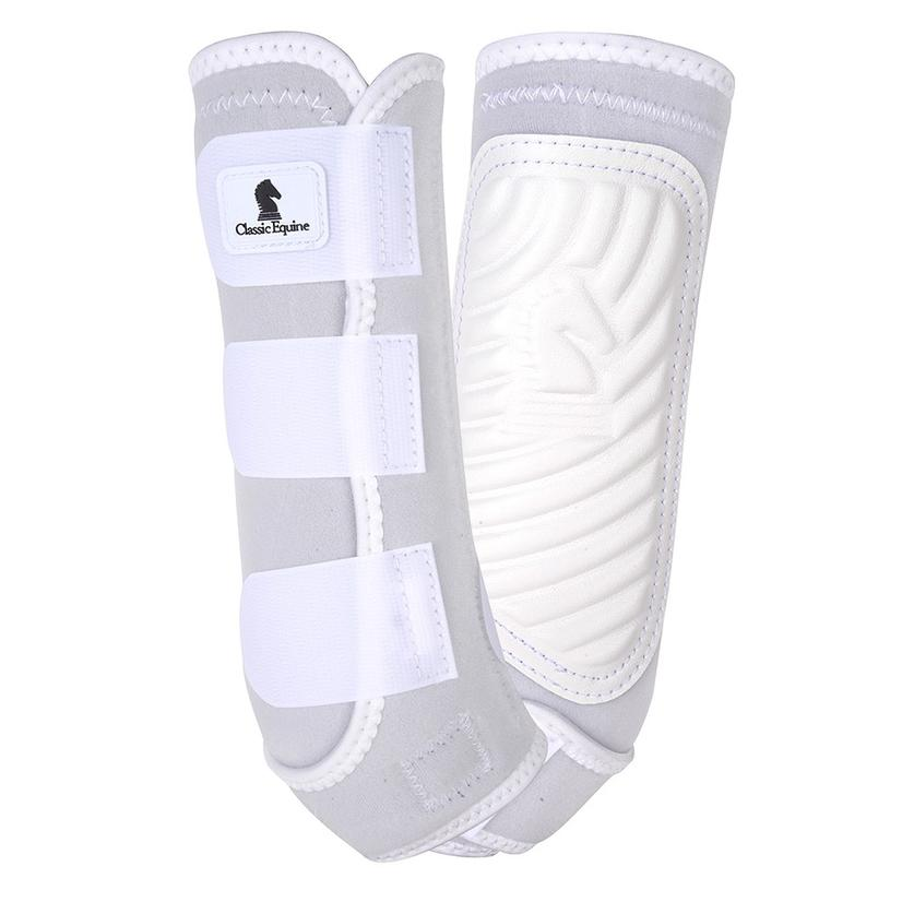 Classic Equine ClassicFit Hind Boots WHITE