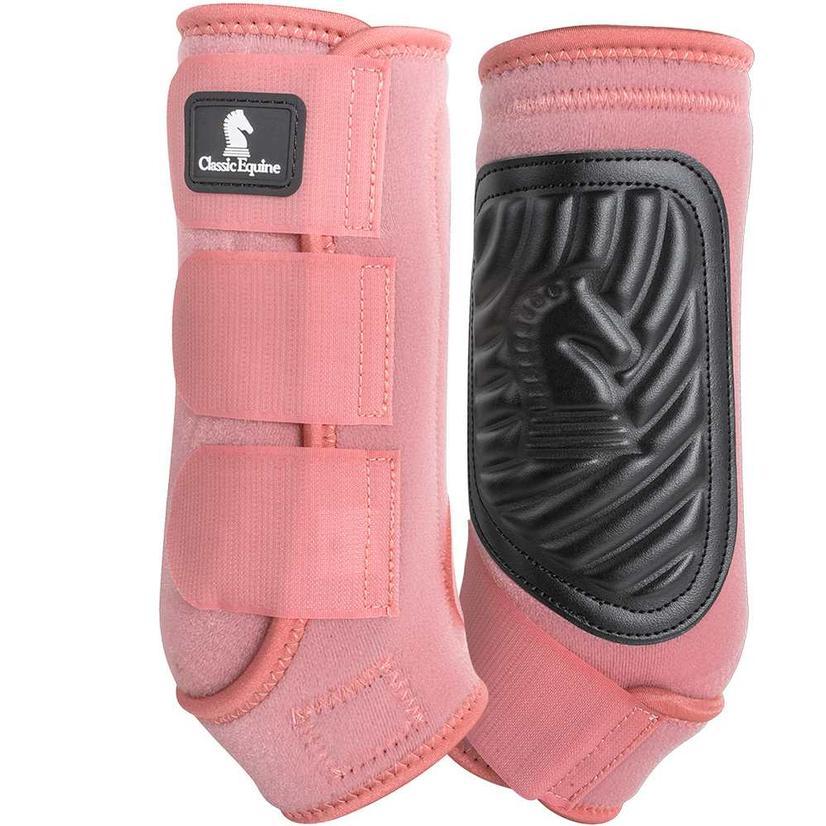Classic Equine ClassicFit Front Leg Boots BLUSH