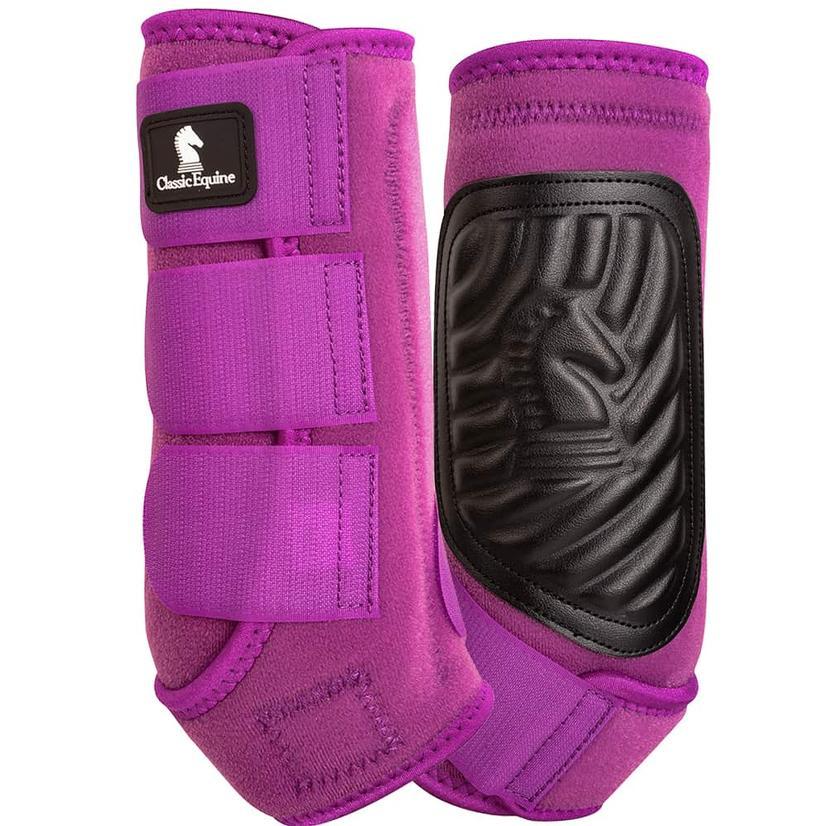 Classic Equine ClassicFit Front Leg Boots PLUM