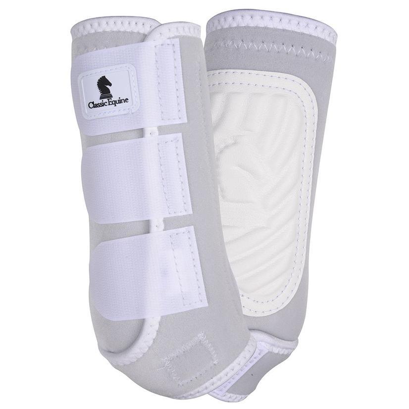 Classic Equine ClassicFit Front Leg Boots WHITE