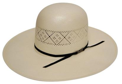 Tuff Cooper Open Vented Natural Straw Cowboy Hat