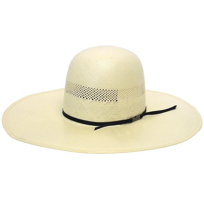 7104 S Regular Oval Straw Cowboy Hat