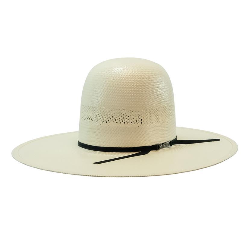 7104 O Regular Oval Panama Straw Cowboy Hat