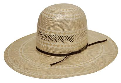 American Hat Company Straw 4 1/4 Regular Oval Cowboy Hat
