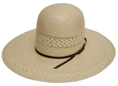 Tuff Cooper Open Vented Two Tone Straw Cowboy Hat