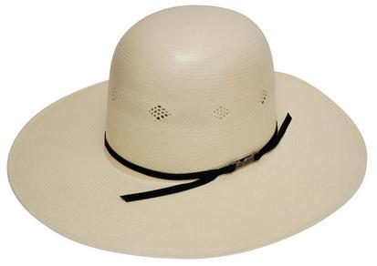 American Hat Company Natural Open Straw Cowboy Hat