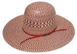 American Hat Company Red 4 1/4 Long Oval Straw Cowboy Hat