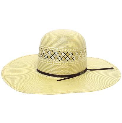 American Hat Company Straw Oval Cowboy Hat