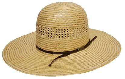 American Hat Company Two Tone Straw Cowboy Hat