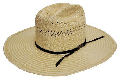 American Hat Company Poli Rope Straw Cowboy Hat