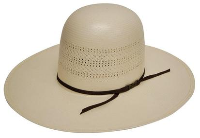 7400s Long Oval Panama Straw Cowboy Hat