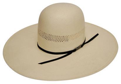 7104 O Long Oval Panama Straw Cowboy Hat