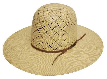 5060 S Long Oval Straw Cowboy Hat With 4 1/4