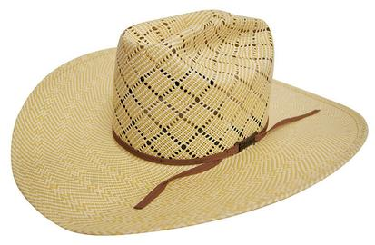 5060 Wide A Straw Cowboy Hat With 4 1/4