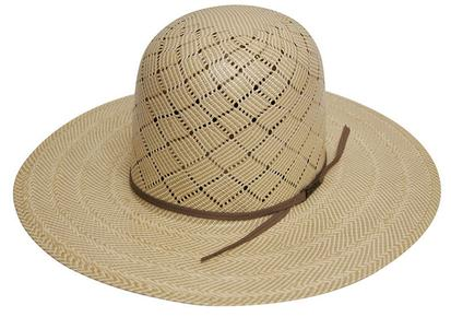 5050 S Long Oval Straw Cowboy Hat With 4 1/4