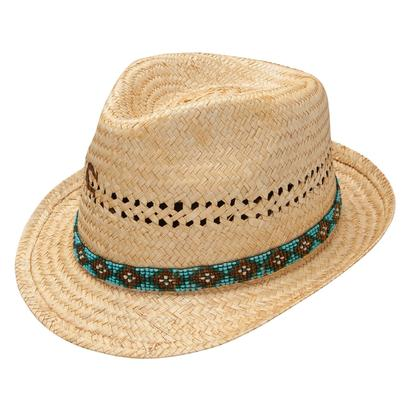 Paradise Straw Fedora By Charlie 1 Horse