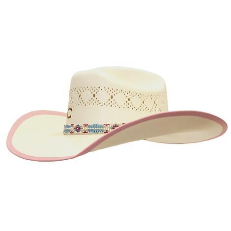 Gracie Jr Youth Straw Cowboy Hat
