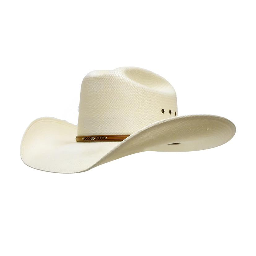 Resistol Palo Duro 6x Straw Cowboy Hat