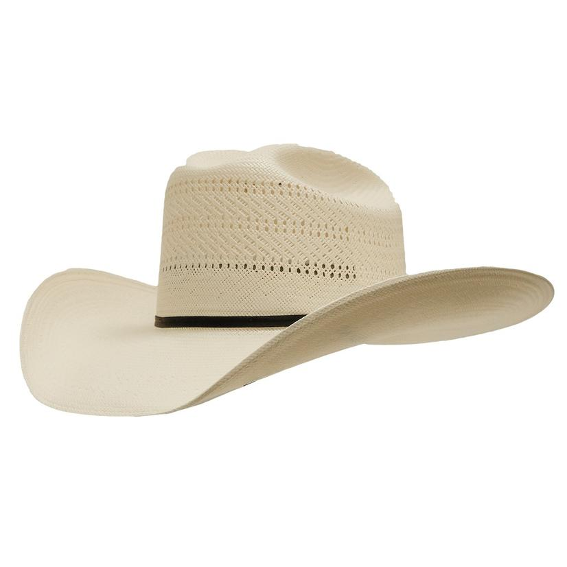 54406f0a62a Resistol Ranch Collection Chase 20x Straw Cowboy Hat With 4 1 4