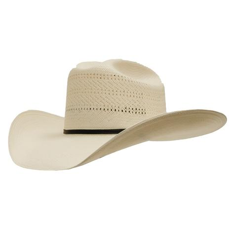 Resistol Ranch Collection Chase 20X Straw Cowboy Hat With 4 1/4