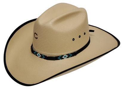 Charlie 1 Horse Saxy 10x Straw Hat