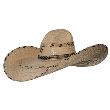 Charlie 1 Horse Mariposa Palm Wide Brim Cowboy Hat