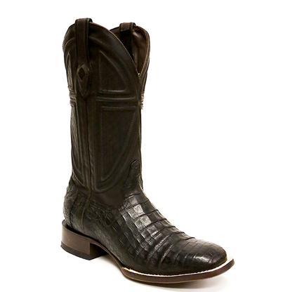 Stetson Black Caimen Belly Men's Boot