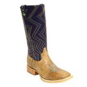 Tin Haul Men's Astro Neon Zig Zag Cowboy Boots