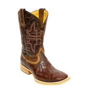 Tin Haul Men's Stag Animal House Cowboy Boots