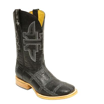 Tin Haul Mens Rope Burn Cowboy Boots