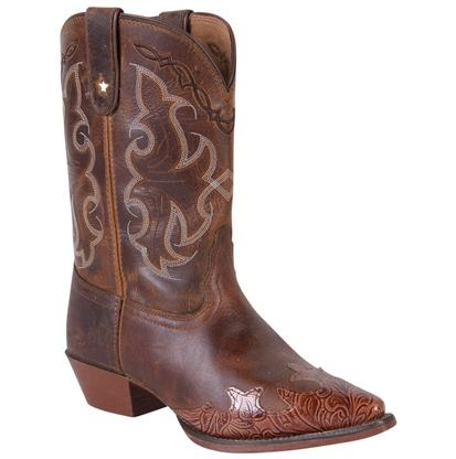 Tony Lama Kids' Tan Savannah Vaquero Boots