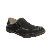 Tony Lama Men's Coal Black Slip On Shoe