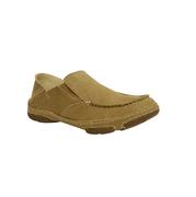 Tony Lama Men's Winter Wheat Canvas Slip On