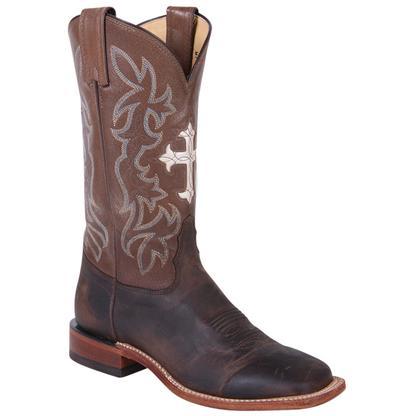 Tony Lama Women's San Saba Tan Goat Cowboy Boots